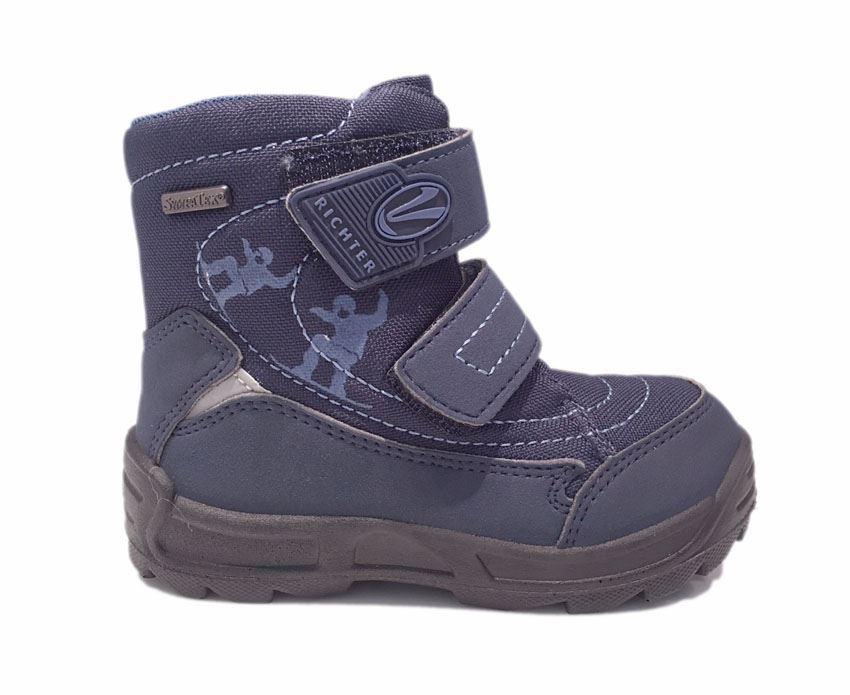 2e5d28c677e Richter 2032 blå vinterstøvler med støtte. Vinterstøvle