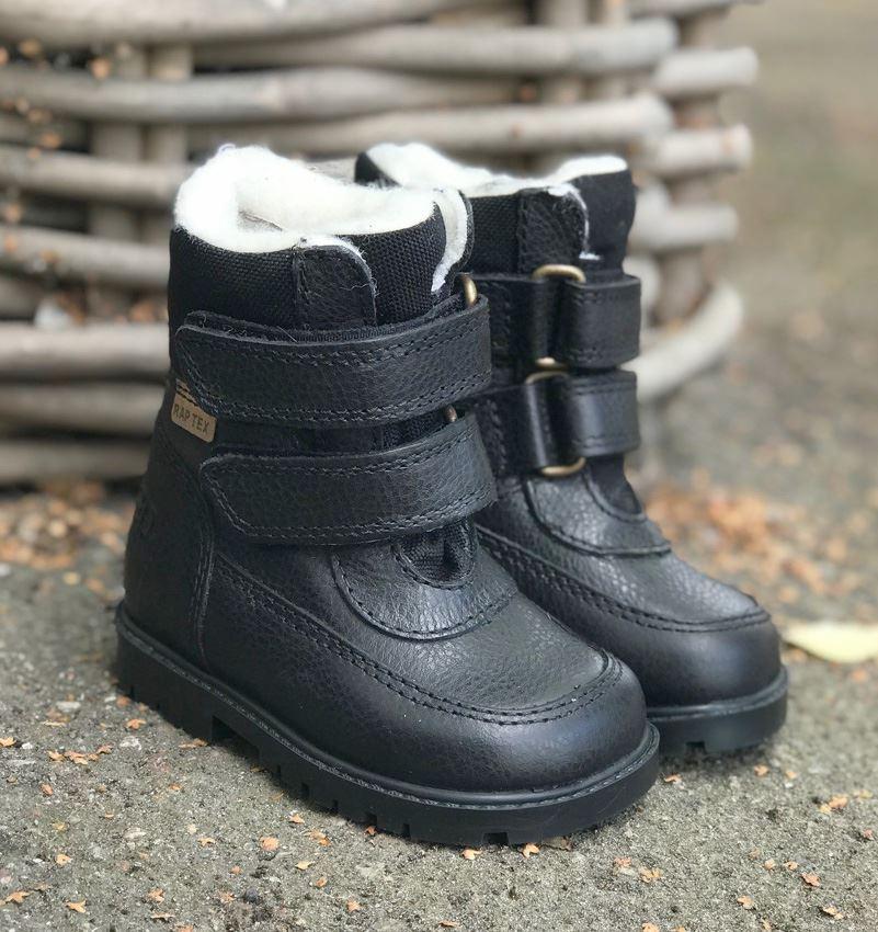 Arauto RAP TEX støvle m. velcro sort (smal)