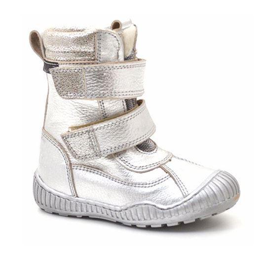 6cbaece22878 Arauto RAP sølv vinterstøvler med god hæl-støtte.
