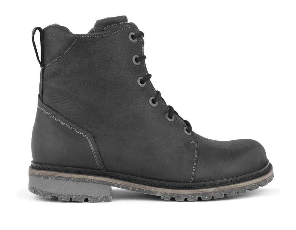 48ece093ad41 New Feet ankelstøvler m. snøre lynlås