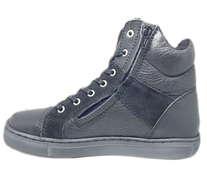 0664e5e097bd Lækre uni-sex forede basketstøvler fra Rap. Støvlen er i sort skind med RAP-Tex  membran