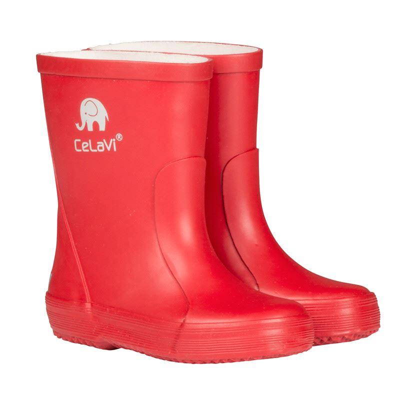 0d38556eaaa1 Gummistøvler fra Celavi - røde gummistøvler. Køb her